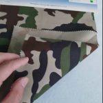 ลายพราง 80/20 ผ้าโพลีเอสเตอร์ผ้าทแยงโพลีเอสเตอร์สำหรับเครื่องแบบทหาร