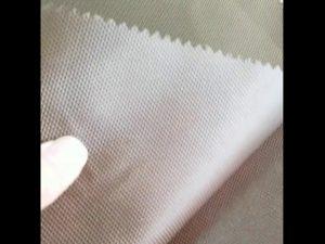 ผู้จัดจำหน่ายผ้าโพลีเอสเตอร์ PU coated polyester 1680D สำหรับกระเป๋าเป้สะพายหลัง