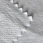 WF1/O9TO5 SS+PTFE Non woven fabric laminated with PTFE milky breathable membrane of medical protective suit fabric