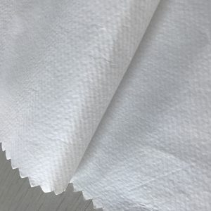 WF1 / O6SO5 SS + PE 65gsm ผ้าไม่ทอโพลีโพรพีลีน + PE สำหรับผ้าป้องกันเสื้อผ้าสำหรับแพทย์