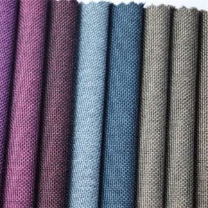 300d ผ้าโพลีเอสเตอร์ทอผ้า Oxford สไตล์วินเทจ